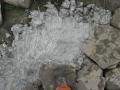 utěsňování spodního břehu vyztužené tůně kaolinem 2012