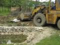 odvoz zeminy od vyztužené tůně 2012